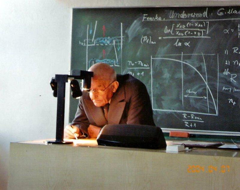 Prof. Roman Koch kończy 100 lat