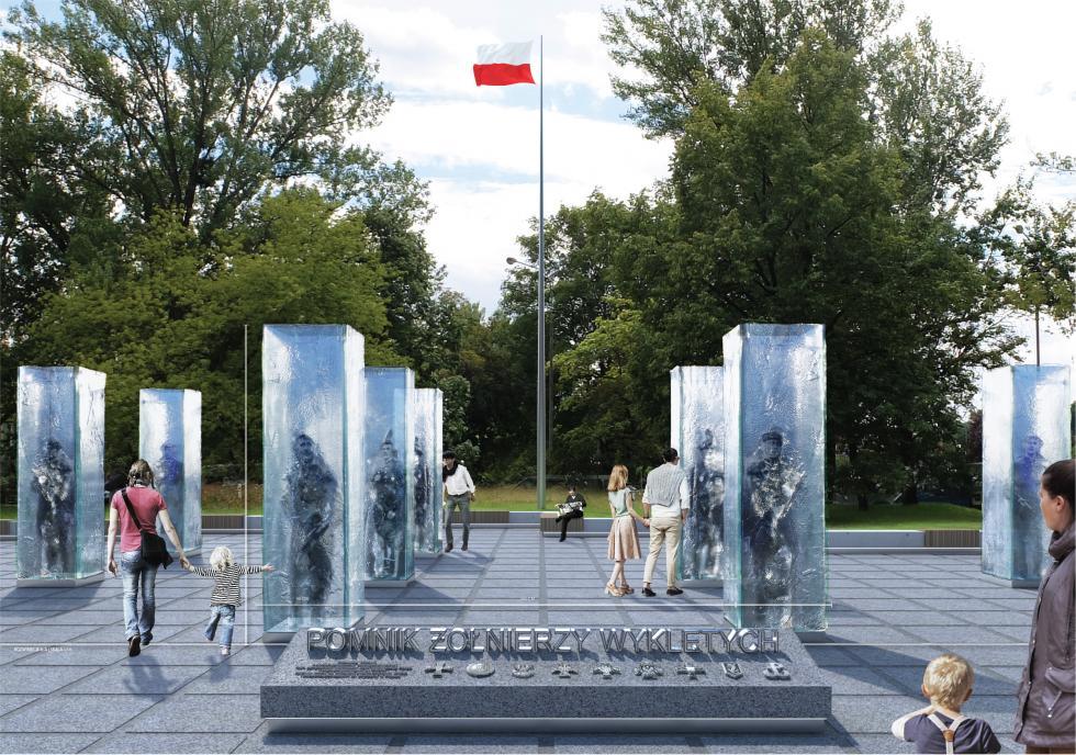 Rozstrzygnięto konkurs na pomnik Żołnierzy Wyklętych weWrocławiu