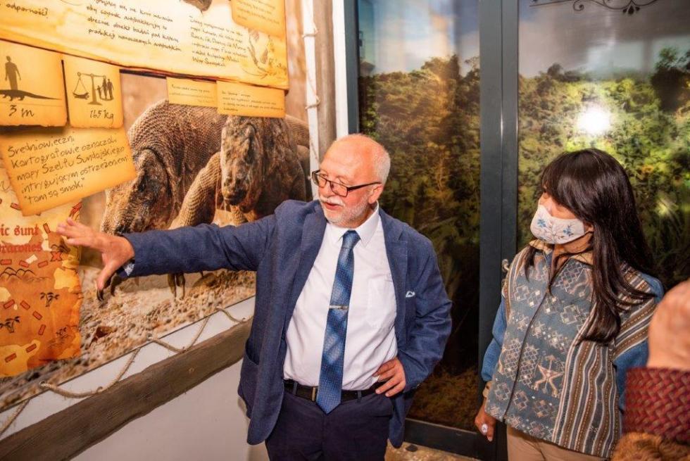 Wizyta Ambasador Republiki Indonezji wewrocławskim zoo