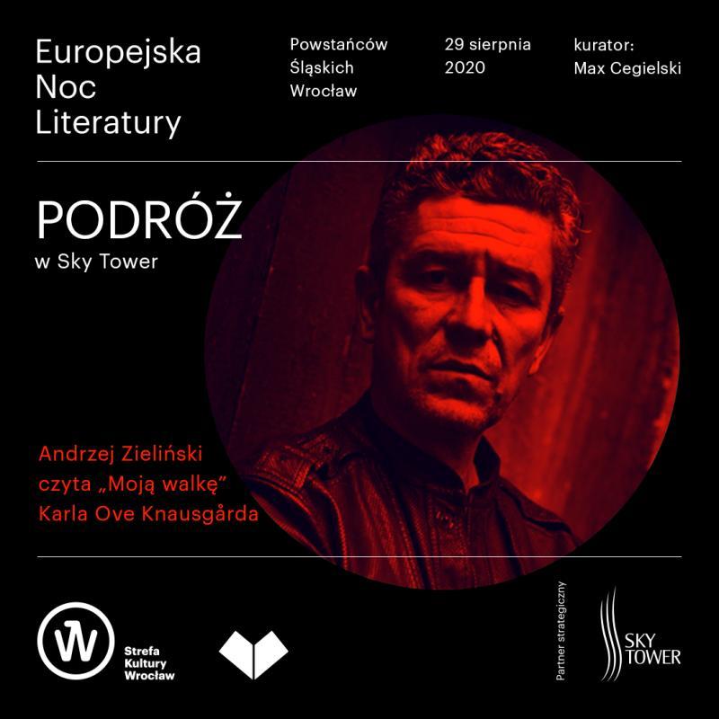 Europejska Noc Literatury zAndrzejem Zielińskim wSky Tower