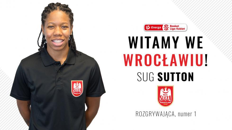 Sug Sutton dołącza dokadry Ślęzy Wrocław