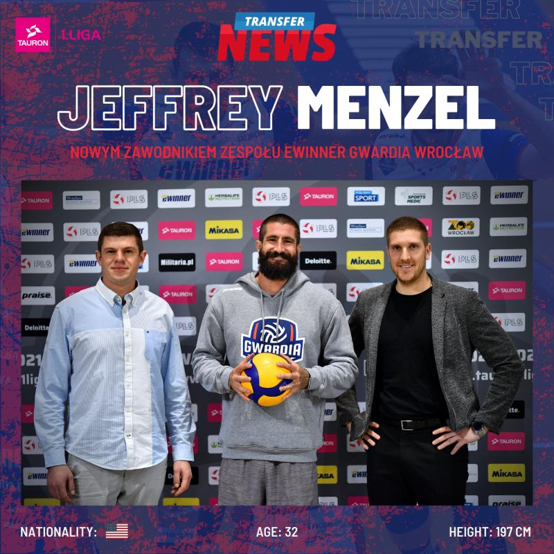 Jeffrey Menzel weWinner Gwardii