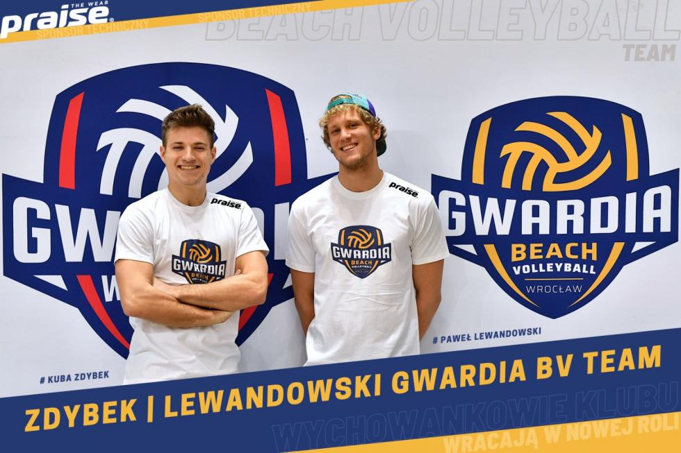 Zdybek i Lewandowski w GWR Beach Volley