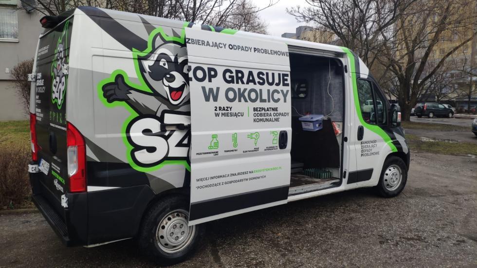Pojawi się SZOP – samochód zbierający odpady problemowe