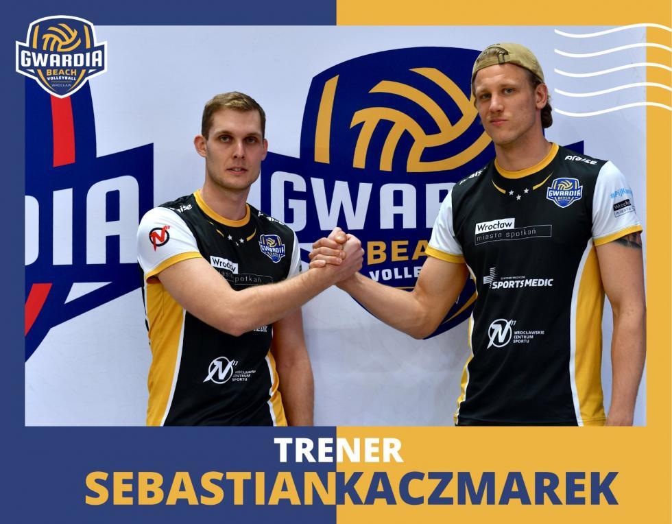 Sebastian Kaczmarek trenerem GWR Beach Volleyball