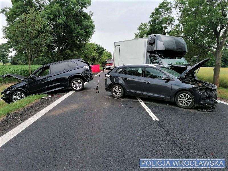 Śmiertelny wypadek na drodze krajowej nr 8.